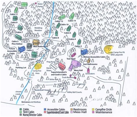 cpp map c peaceful pines c map