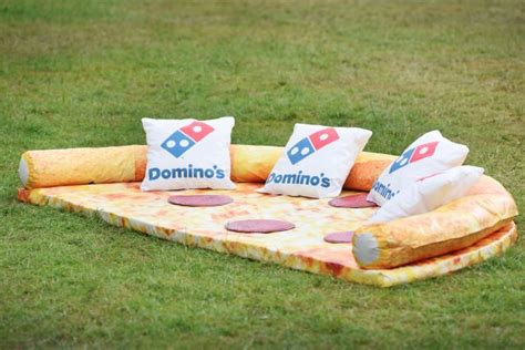 domino pizza giant bsd domino s pizza sofa is a real thing brand eating