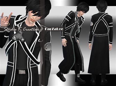 Vest Anime Sao Vest Wp Jacket Va Sao 02 studio k creation sword kirito sims 4 downloads