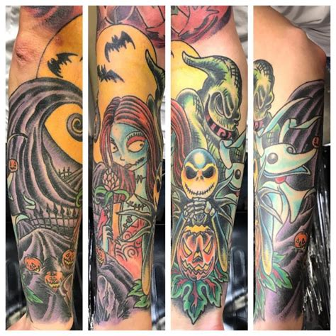 69 tattoo designs nightmare before sleeve cards
