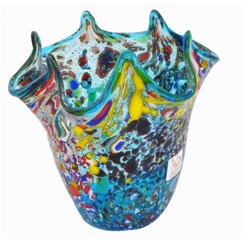Murano Glass Vase by Small Murano Glass Blue Vase Vv02 Vases