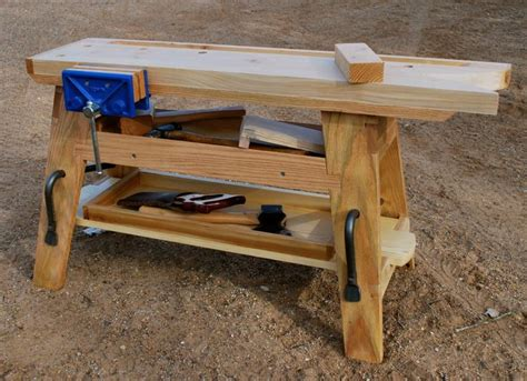 portable woodworking bench plans 901 best workshop workbenches images on pinterest