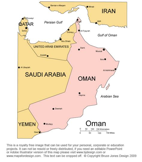 middle east map oman free middle east and central asia countries printable