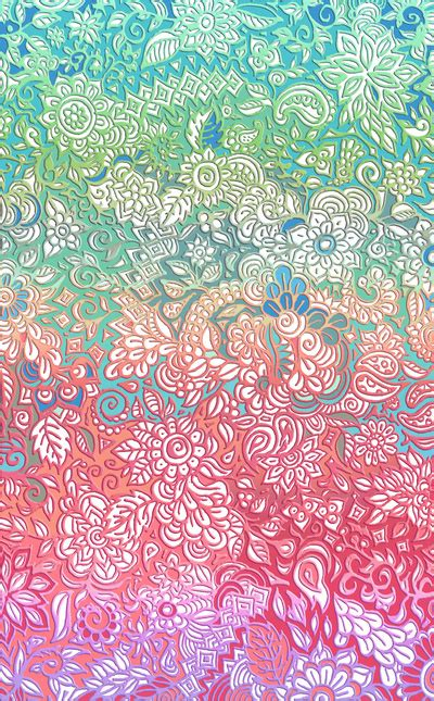 doodle wallpapers soft pastel rainbow doodle print inspirations