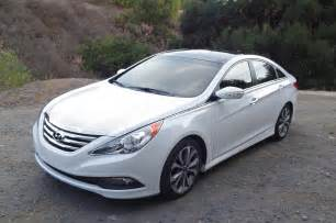 Hyundai Sonata 2014 Used 2014 Hyundai Sonata 20t Drivers Side Front View Photo 2