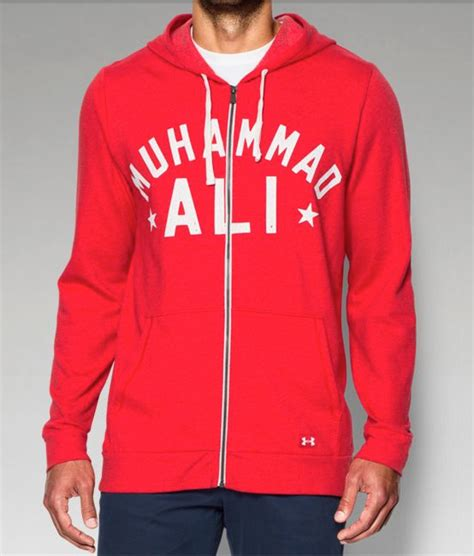 Hoodie Muhammad Ali Roffico Cloth roots of fight armour muhammad ali clothing