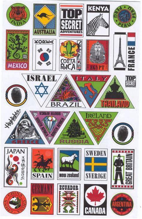 Car Sticker Drucken by Sticker F 252 R Die G 228 Ste Koffer Zum Ausdrucken Travel