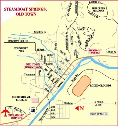 steamboat colorado trail map steamboat springs colorado area map
