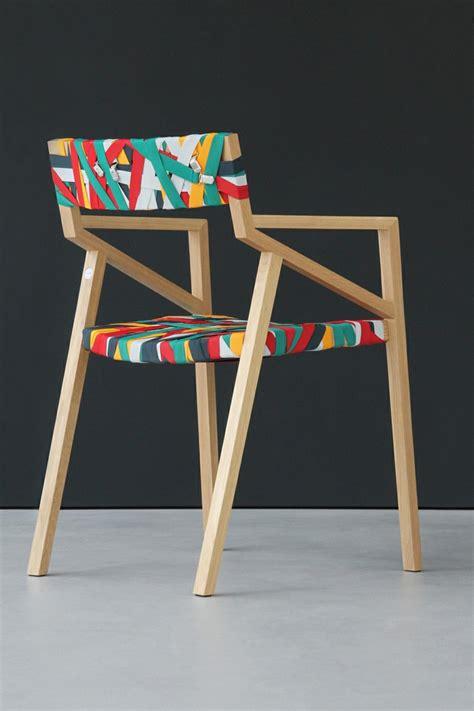 design stuhl holz designer m 246 bel bretelle st 252 hle aus holz und hosentr 228 gern