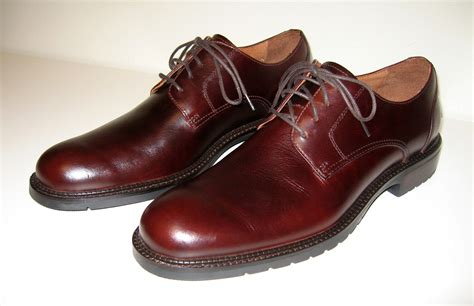 file mens brown derby leather shoes jpg