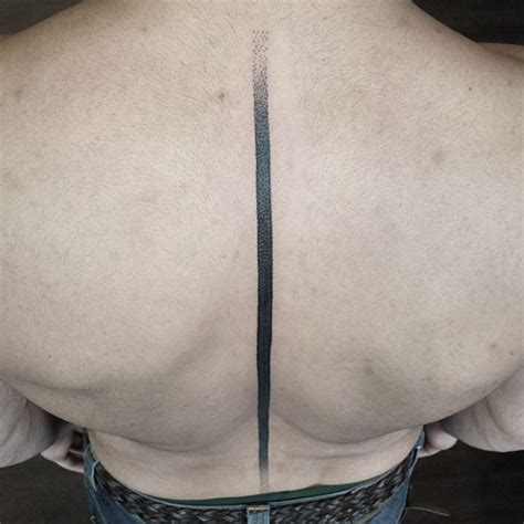 black line spine tattoo best tattoo ideas gallery