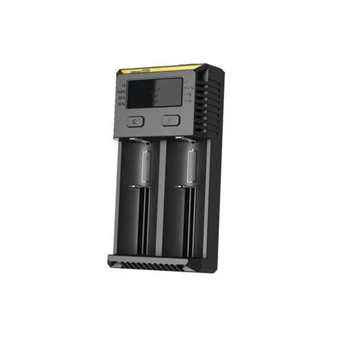 Nitecore Battery Charger Dual Slot For Li Ion High Definition Lcd Um20 authentic nitecore new i2 uk dual slot li ion battery charger
