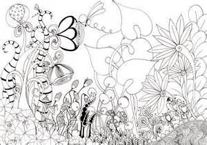 Day 22 Flower Garden A Potential Page For The Colouring Book Here Can  sketch template