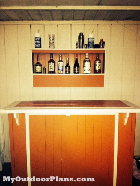 diy outdoor bar myoutdoorplans  woodworking plans
