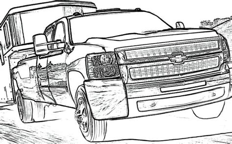coloring pages gmc truck chevy truck coloring pages freecoloring4u com
