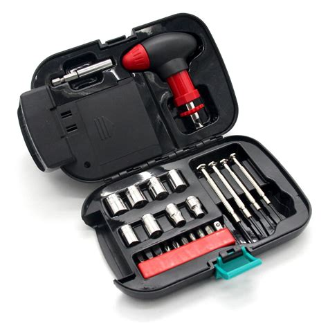 24pcs Set Auto Emergency Car Repair Tool Kit With Spot Tool To Repair Lights