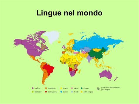 nel mondo lingue nel mondo