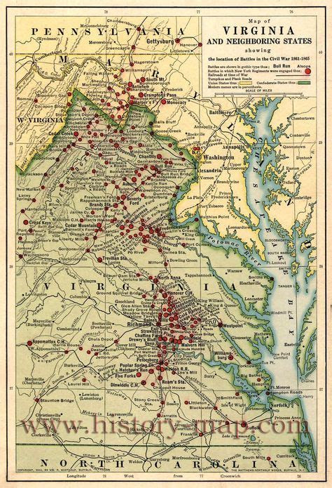 map maryland and west virginia map of eastern virginia and parts of carolina