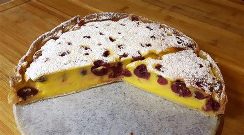 quark pudding kuchen sauerkirschen quark pudding kuchen rezept mit bild