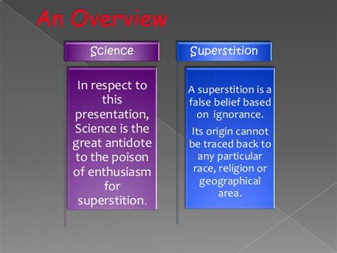 science of superstition science superstition