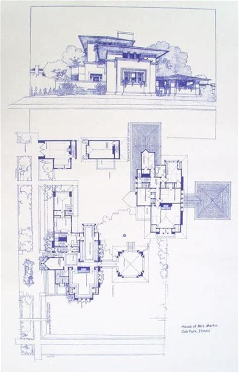 frank lloyd wright blueprints frank lloyd wright fricke house blueprint by