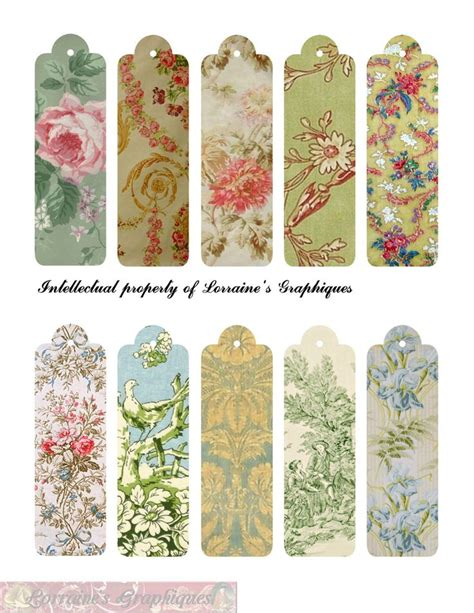 printable bookmarks vintage 142 best images about vintage printables on pinterest