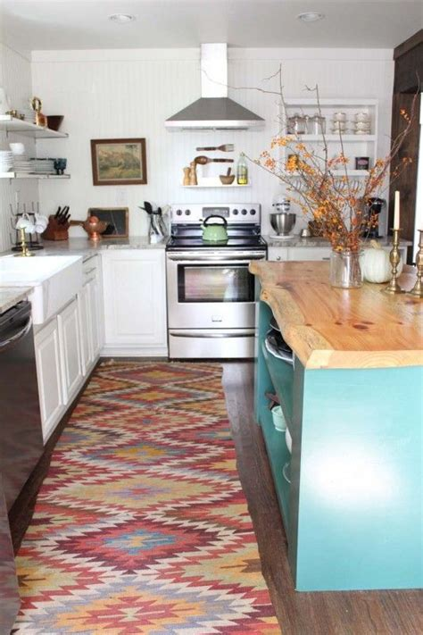 custom kitchen rugs how to achieve a rustic eclectic style in your home countertops custom kitchens and kitchen rug