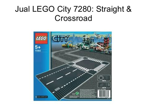 Jual Lego City Pesawat by Jual Lego City 7280 Crossroad