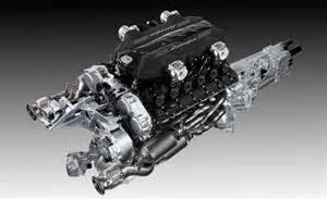 Engine Of Lamborghini New V12 Engine And Transmission From Lamborghini