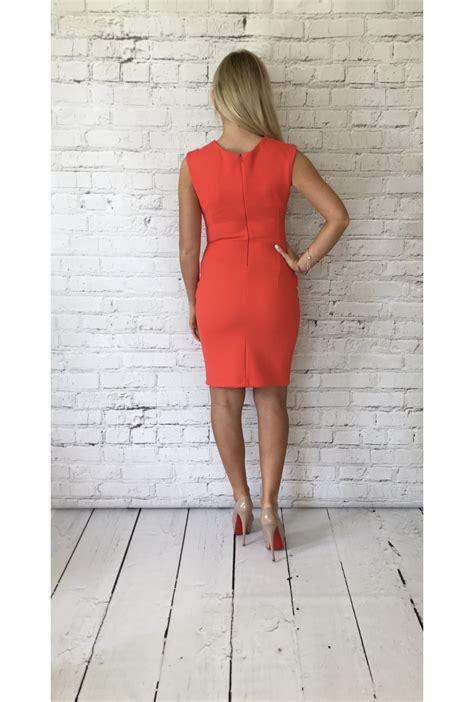 Dress Vb rinascimento vb orange waffle dress rinascimento from ruby room uk