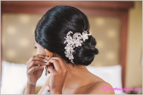 Bridal Hairstyles Low Bun With Flowers by Bridal Hairstyles Low Bun With Flowers Allnewhairstyles