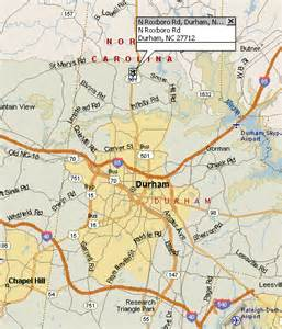 durham carolina map map and directions to durham shhh chapter