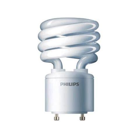 Lu Philips Spiral 24 Watt philips 75w equivalent bright white 4100k spiral gu24 cfl light bulb e 411777 the home depot