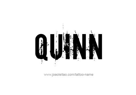 tattoo quin quinn name tattoo designs