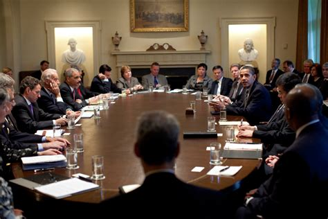 What Does The Cabinet Do by 187 Obama Cabinet Meeting Otb Journal Of Politics
