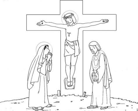 dibujos para colorear dibujos de semana santa dibujo de una cruz para colorear en semana santa