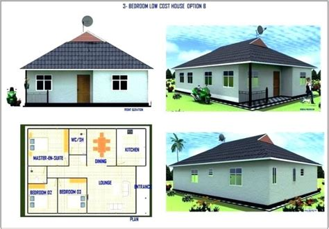 cost to build 1 bedroom house average cost of building a 3 bedroom house in kenya