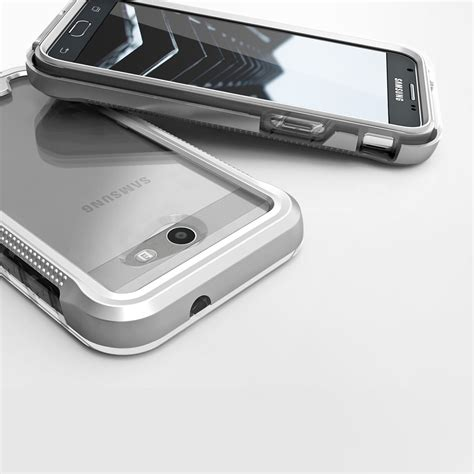 Samsung J7 Prime Hardcase Ipaky 360 Free Tempered Glass for samsung galaxy j7 2015 zizo ion tempered glass tough armor cover ebay