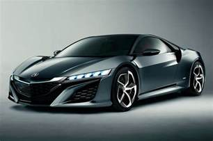2015 Acura Nsx 2015 Acura Nsx Concept Front Three Quarters View Photo 2