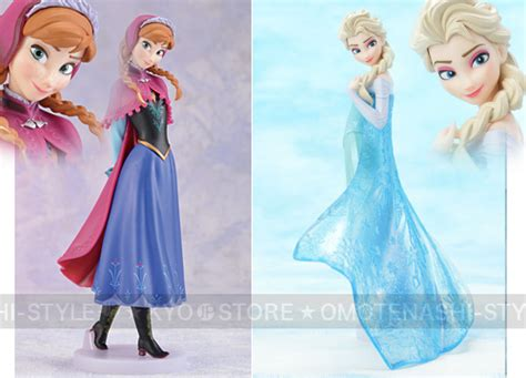 Premium Figure Frozen frozen premium figure set and elsa disney x sega