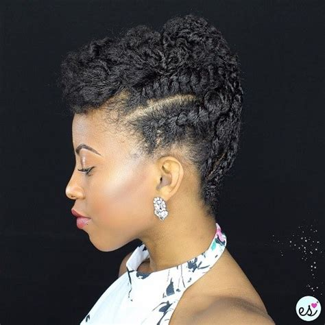 diy hairstyles for short natural african hair 75 most inspiring natural hairstyles for short hair in 2018