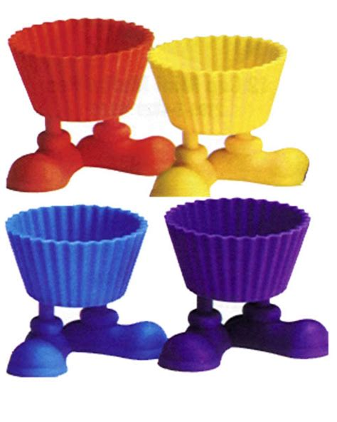 Wilton Silly Baking Cup It Or It by Wilton Silicone Baking Cups