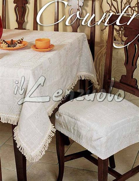 cuscini sedie country cuscino sedia universale con fascia sfoderabile country