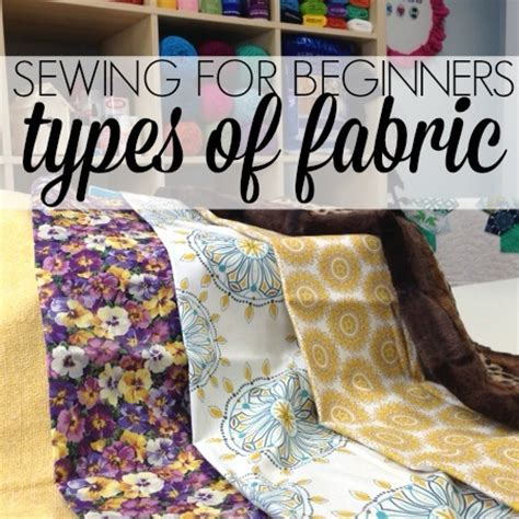 Sew What Upholstery by Sew For Beginners Types Of Fabric Allfreesewing