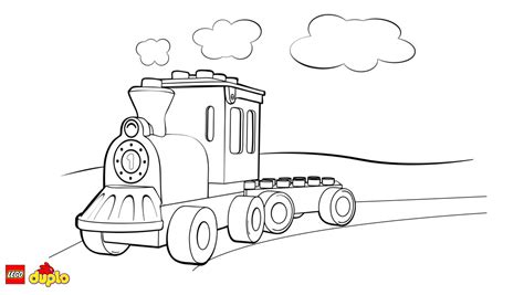 lego 174 duplo 174 train coloring page coloring page lego