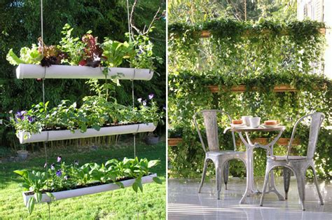 DIY Gutter Gardens   At Home with Kim Vallee