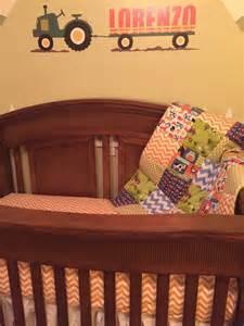 Farm Crib Bedding Set Free Range Farm 3 Baby Crib Bedding Set Made To Order