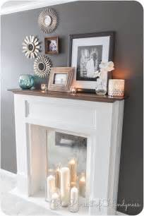 diy faux fireplace tutorial the pursuit of handyness i