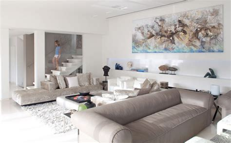 how to decorate a modern home contemporary homes interior decorating in white sea