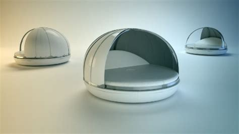 futuristic bed futuristic day bed for maximum relaxation digsdigs
